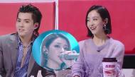 Victoria (f(x)) cười hớn hở khi thấy Ngô Diệc Phàm khó xử vì gặp phải nhạc EXO trên show âm nhạc