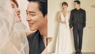 """Phát cuồng với ảnh cưới đẹp ngất ngây của tài tử Jo Jung Suk và giọng ca """"Hậu Duệ Mặt Trời"""" Gummy"""
