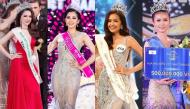 Dàn Hoa hậu đăng quang năm 2018: Người phủ sóng truyền thông, người không chút tung tích