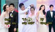 """Đủ kiểu tình huống bất ngờ trong đám cưới sao Việt: Người chịu """"lỗ sấp mặt"""", người phải ký tặng fan"""