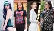 Loạt sao nữ Việt tăng cân mất kiểm soát khiến fan khó lòng nhận ra
