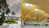 Top 10 sân bay đẹp nhất thế giới: nơi có khu lướt ván, nơi có có cả... thuỷ cung