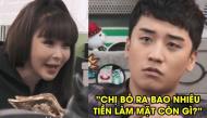 """Khi 2 """"thánh lầy"""" nhà YG quay show: Seungri cả gan trêu chọc Park Bom sửa mặt trên truyền hình"""