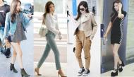 """Jennie Kim xứng danh rich kid """"từ trong trứng nước"""" với thời trang sân bay sang chảnh"""
