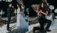 Showbiz Việt sắp có thêm một đám cưới, chú rể cầu hôn cô dâu bằng nhẫn bạc tỷ