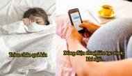 5 thói quen ngủ của mẹ bầu tưởng bình thường hóa ra lại gây nguy hiểm cho thai nhi