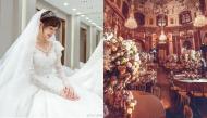 Lộ ảnh thử váy cưới và cận cảnh lễ đường xa hoa, đẹp như cổ tích của La Tấn - Đường Yên
