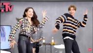Chi Pu xuất hiện trên truyền hình Hàn Quốc, hồ hởi dạy trai đẹp Johnny (NCT) nhảy 'Đóa Hoa Hồng'