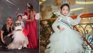 Đào Nguyễn Hồng Lam - cô bé 6 tuổi đến từ Hải Phòng đã đăng quang ngôi vị Hoa hậu nhí Á Âu 2018