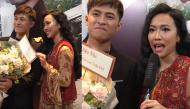 """Tặng hoa cho Gin Tuấn Kiệt, Diệu Nhi than thở: """"Xúc động không em, bó hoa 700 nghìn của chị đó"""""""