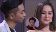 Trấn Thành khóc đỏ mắt khi thấy Khánh Thi nghẹn ngào kể lại chuyện tình với Phan Hiển
