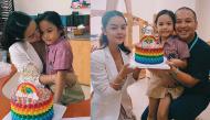 Sau khi ly hôn vì người thứ 3, Phạm Quỳnh Anh - Quang Huy vẫn cùng mừng sinh nhật con gái