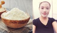 """Da căng, trắng hồng và sạch mụn đầu đen với 6 công thức mặt nạ """"thần thánh"""" làm từ bột gạo"""