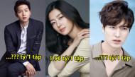 Top 10 ngôi sao được trả cát-xê cao nhất xứ kim chi, bất ngờ nhất là Song Joong Ki và Lee Min Ho