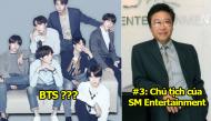 Top 5 nhân vật quyền lực nhất Kpop: Số 1 áp đảo với số phiếu chênh lệch cực cao