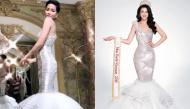 """Trang phục dạ hội của """"cô Hen"""" bị netizen chê bai tới tấp và còn """"đụng hàng"""" Hoa hậu Phương Khánh"""