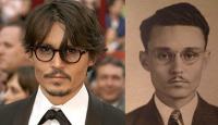 Sốc với bộ ảnh các ngôi sao Hollywood giống hệt người xưa: Du hành xuyên thời gian là có thật?