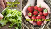 Những thực phẩm quen thuộc nhiều người hay dùng nhưng chưa chắc đã biết ăn đúng cách