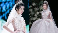 Hé lộ hình ảnh Đỗ Mỹ Linh diện váy cưới lộng lẫy làm cô dâu dù chưa biết chú rể là ai