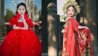 Lộ diện quốc phục và đồ dạ hội của đại diện Việt Nam ở bán kết Hoa hậu nhí Á Âu 2018
