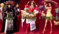 """Lộ diện top 6 trang phục dân tộc thiết kế cho """"cô Hen"""" tại đấu trường Hoa hậu Hoàn vũ 2018"""