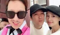 """Trường Giang đăng ảnh cùng vợ trong chuyến trăng mật Hàn Quốc, bức ảnh lập tức nhận được """"bão like"""""""