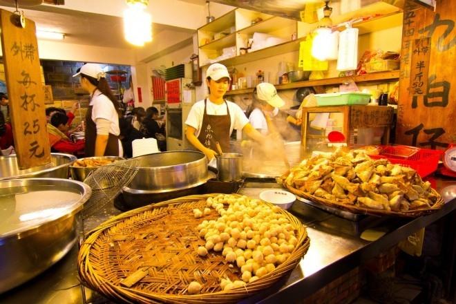 Du lịch Đài Loan thưởng thức những  đặc sản vỉa hè vừa rẻ vừa ngon