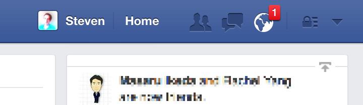 bestie y nghia bieu tuong thong bao Facebook