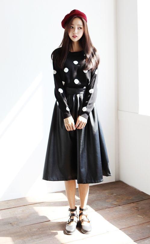 1001 cách phối đồ với chân váy vừa xinh yêu vừa chất như gái Hàn
