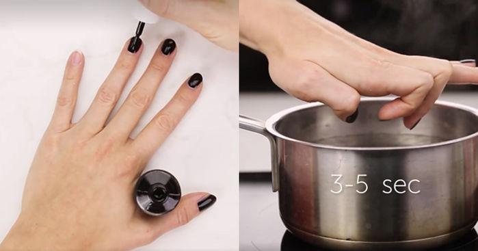 Mẹo sơn móng tay dành cho những cô nàng điệu đà