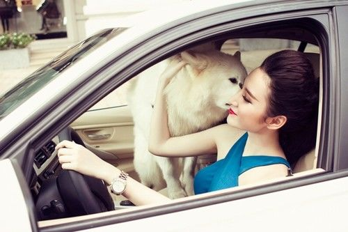 bestie hotgirl mua xe