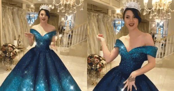 Chiêm ngưỡng chiếc đầm ảo diệu thu hút hàng triệu lượt xem trên MXH