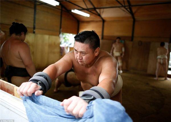 Cuộc sống bí mật đằng sau những thân hình nặng nề của võ sĩ sumo