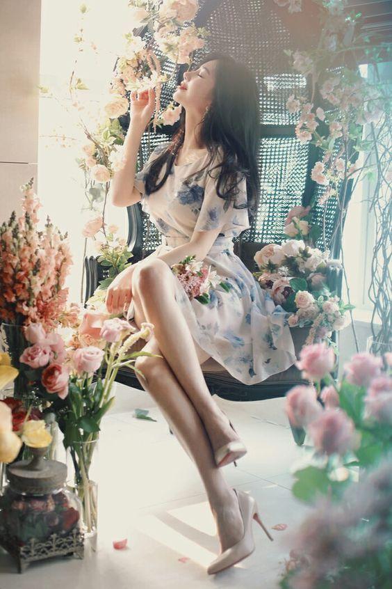 Bestie - Nhung chiec vay hoa duyen dang lam cho mua Xuan - He them ruc ro