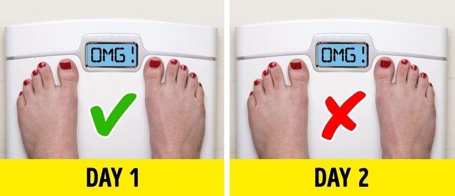 11 sai lầm thường gặp khi giảm cân khiến bạn mãi không xuống kí