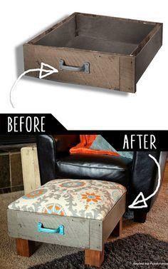 16 ý tưởng đồ nội thất tự tái chế giúp bạn thay đổi diện mạo ngôi nhà của mình
