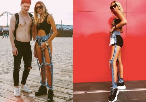 Những mẫu quần jean độc lạ khiến bạn choáng váng