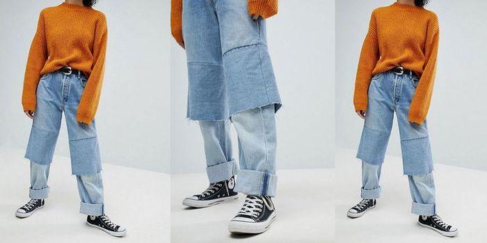 Những mẫu quần jean vừa quái đản vừa đắt mà vẫn cháy hàng