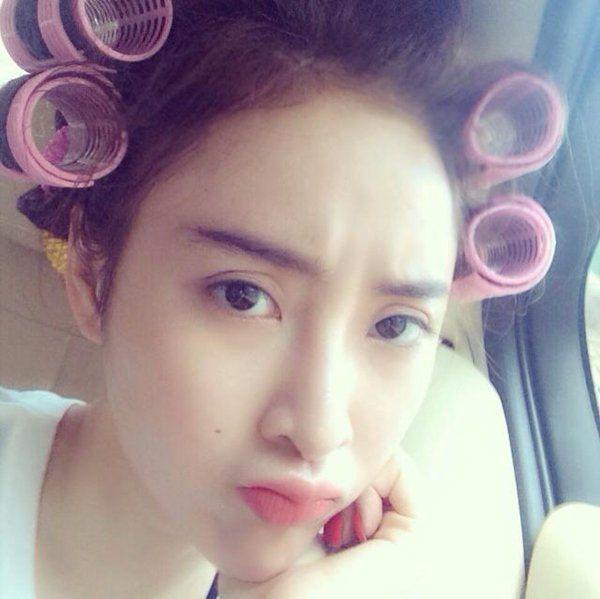 Những kiểu tóc chất chơi của sao Việt sau hậu trường