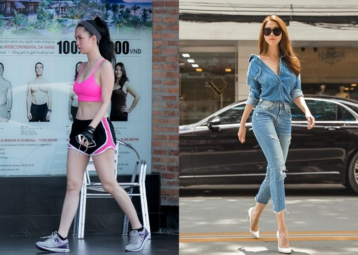Khi sao Việt không đi giày cao gót liệu vóc dáng có còn thu hút?