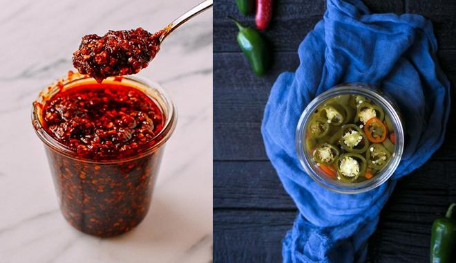 Có 2 hũ ớt này trong nhà thì ăn món nào cũng ngon
