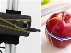 1001 cách sử dụng dây thun thông minh để cuộc sống dễ dàng hơn