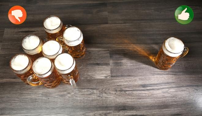 13 lợi ích tuyệt vời khi uống 1 và chỉ 1 lon bia mỗi ngày