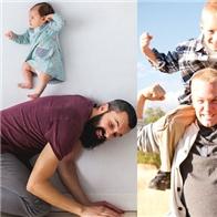 Bộ ảnh ngộ nghĩnh về cha con khiến ai cũng phải bật cười hạnh phúc