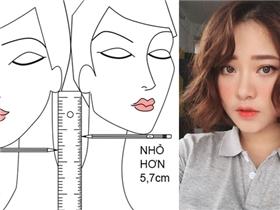 Cách xác định tỉ lệ khuôn mặt để chọn kiểu tóc ngắn cực xinh, cực hợp