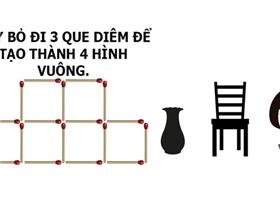"""6 câu đố """"hack não"""" chỉ ai thực sự thông minh mới biết câu trả lời"""