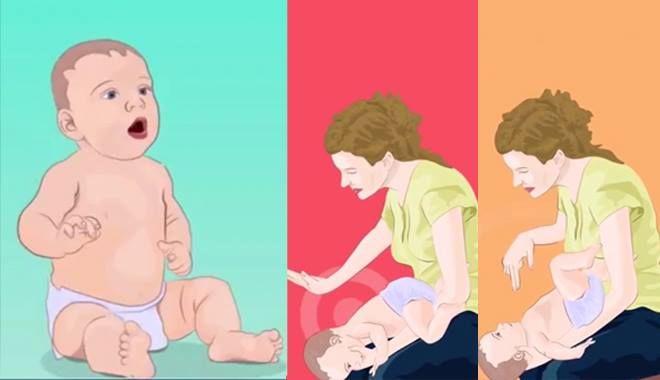 Mẹo đơn giản giúp sơ cứu trẻ em bị hóc dị vật mà bà mẹ bỉm sữa nào cũng nên biết