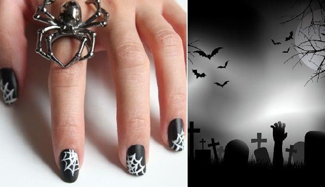 Tạo hình mẫu móng tay ma quái, độc dị cho phù hợp với không khí lễ hội Halloween