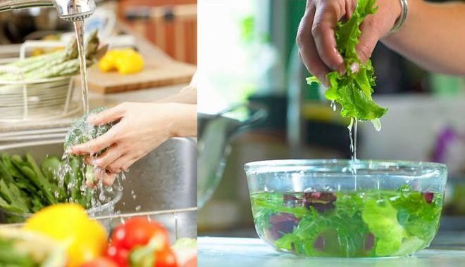 Rửa rau dưới vòi nước: cách làm sai nhưng bà nội trợ nào cũng thực hiện