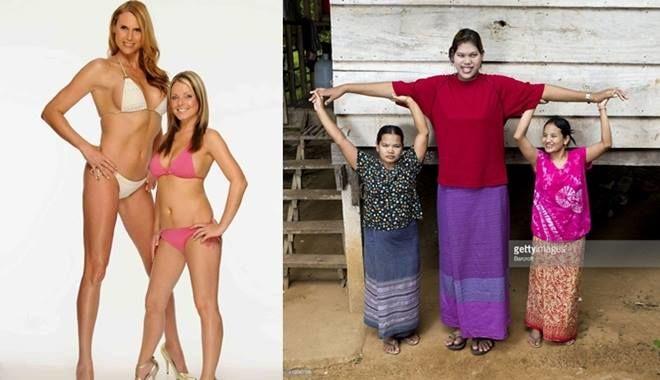 Top 10 những người phụ nữ có chiều cao khủng nhất thế giới